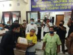 Tni-Polri Bantu Sembako Bagi Warga Terdampak Covid-19 Di Miangas