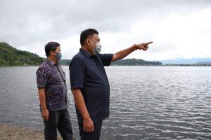 0D-SK meninjau langsung pembersihan eceng gondok di Danau Tondano