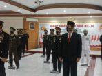 Wagub Kandouw ikut upacara virtual bersama Presiden Jokowi