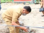 Gubernur Olly letakan batu pertama di SMK Pariwisata Manado