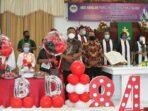 Gubernur Sulawesi Utara Olly Dondokambey menghadiri ibadah syukur HUT ke-84 GMIM Sion Teling