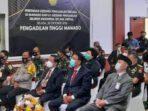 Ketua Mahkamah Agung Muhammad Syarifuddin meresmikan 6 Gedung Pengadilan Terpadu di Manado