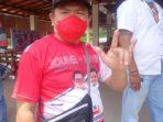 Ketua DPC PDIP Minut Denny Lolong