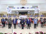 Pjs Gubernur Sulawesi Utara Agus Fatoni membuka kegiatan Temu Karya Daerah Karang Taruna Provinsi Sulut