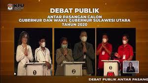 Paslon gubernur Sulut