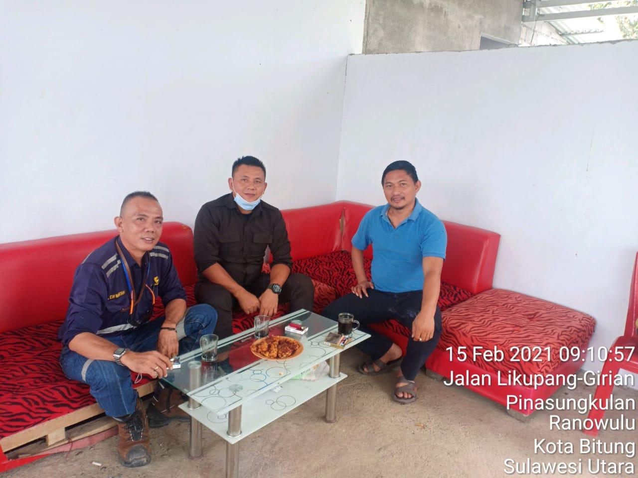 Meydi Wantah bersama warga BItung Sosialisasikan Pamswakarsa