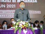 Gubernur Olly Dondokambey Buka Sidang Majelis Sinode Istimewa (SMSI) Ke-80 Gereja Masehi Injili Di Minahasa (GMIM)