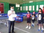 Perebutkan Piala OD-SK, Dispora Sulut Gelar Kejuaraan Tenis Meja