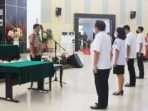 Wakil Gubernur Sulawesi Utara Steven O.E. Kandouw melantik dan mengambil sumpah janji 53 pejabat administrator dan 126 pejabat pengawas di Lingkungan Pemprov Sulut