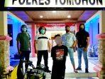 Resmob Polres Tomohon Amankan Pelaku Curanmor di Wailan