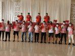 Pencanangan Pelatda PON XX Sulawesi Utara (Sulut), dibuka langsung oleh Ketua Umum Komite Olahraga Nasional Indonesia (KONI) Sulut yang juga Wakil Gubernur Sulut Steven Kandouw