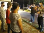 Kapolres Minahasa Selatan (Minsel) AKBP S. Norman Sitindaon memimpin langsung Kegiatan Rutin Yang Ditingkatkan (KRYD)