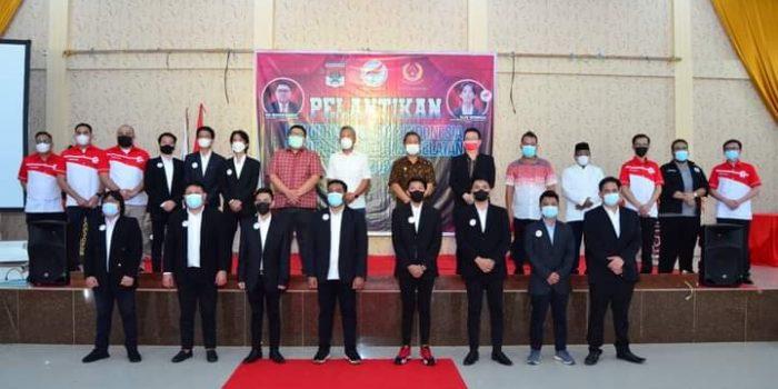 Ketua Pengprop E-Sport Sulawesi Utara (Sulut) Rio Dondokambey melantik kepengurusan Pengkab E-Sport Minahasa Selatan (Minsel)