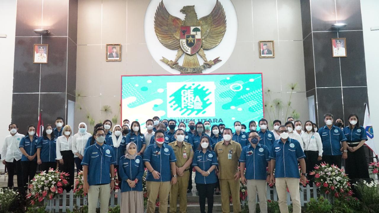 Pemprov Sulut Hadiri Pelantikan DPW GEKRAFS Sulut